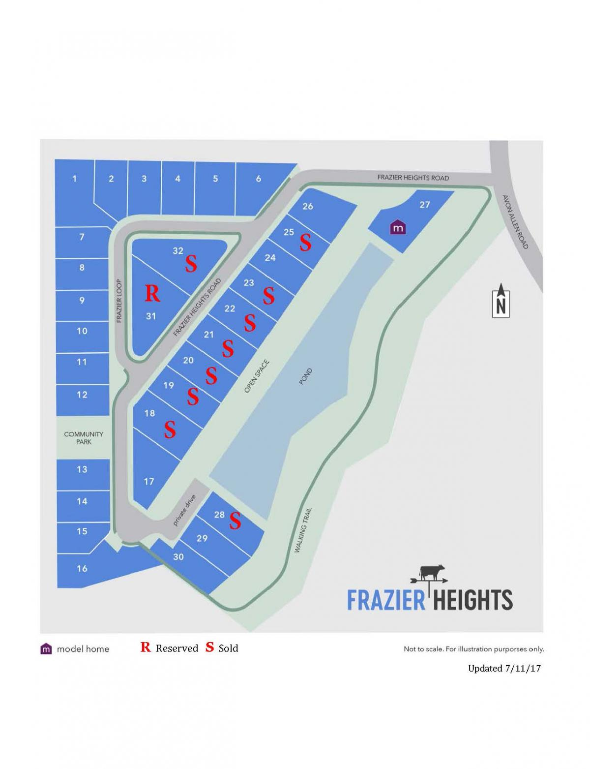 Frazier Heights availability