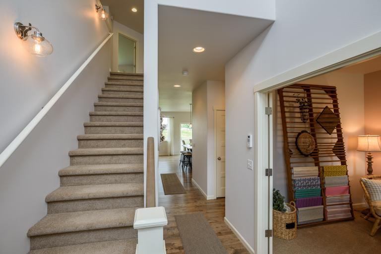 Picture of the model home at Frazier Heights - Padilla