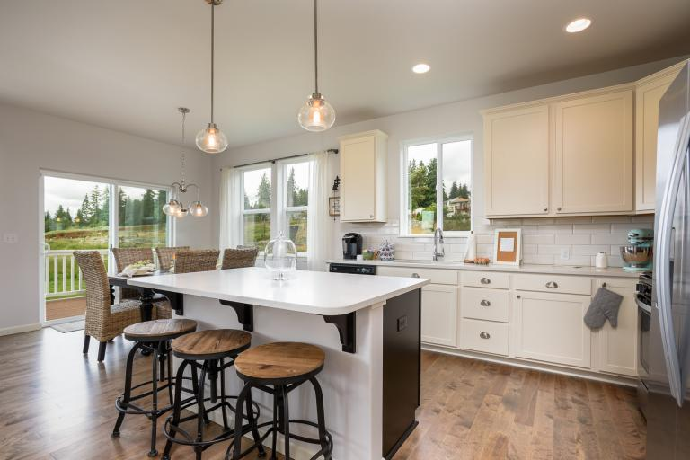 Picture Of The Model Home At Frazier Heights   Padilla
