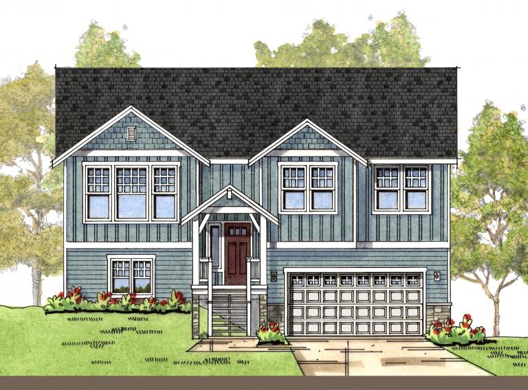 Modern Country 2 elevation