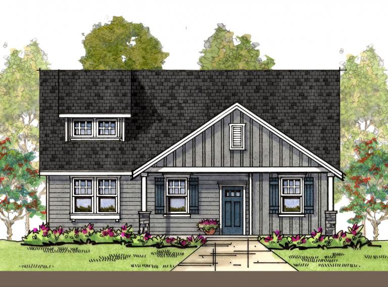 Craftsman 3 elevation