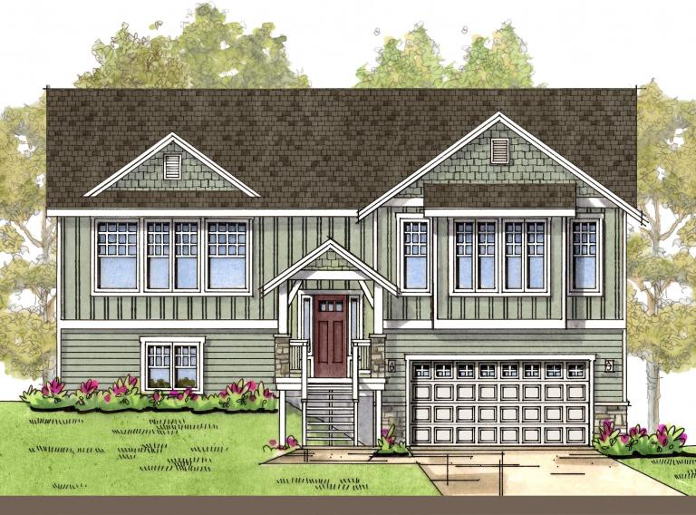 Allen with Modern Country 2 Elevation