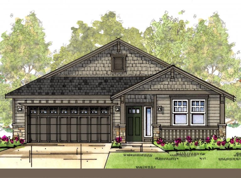 Actual elevation will be similar to this