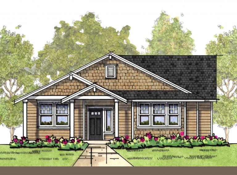 Craftsman 1 elevation