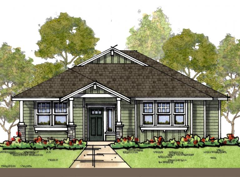 Craftsman 2 elevation